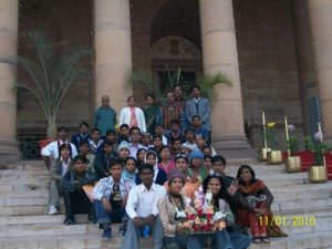 Educational Tour Headed by Dr. Suhas Umale