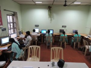 Well equipped Computer Lab