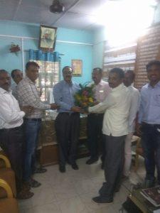felicitation of Dr. kadu hon'ble member NCTE